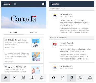 Canada COVID-19 App